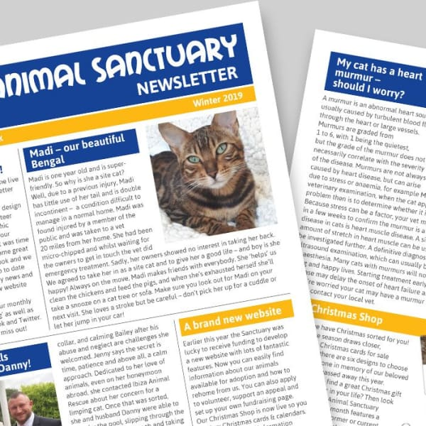 Welcome to our new look newsletter